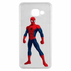 Чохол для Samsung A3 2016 Spiderman in costume