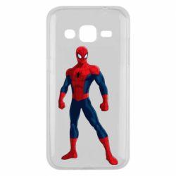 Чохол для Samsung J2 2015 Spiderman in costume