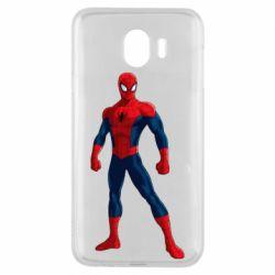 Чохол для Samsung J4 Spiderman in costume