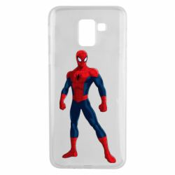 Чохол для Samsung J6 Spiderman in costume