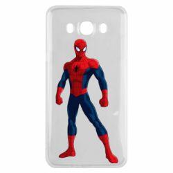 Чохол для Samsung J7 2016 Spiderman in costume