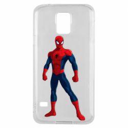 Чохол для Samsung S5 Spiderman in costume