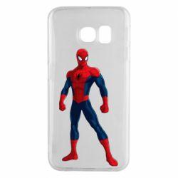 Чохол для Samsung S6 EDGE Spiderman in costume