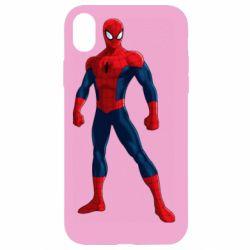 Чохол для iPhone XR Spiderman in costume