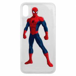 Чохол для iPhone Xs Max Spiderman in costume