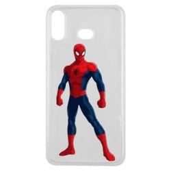 Чохол для Samsung A6s Spiderman in costume