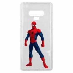 Чохол для Samsung Note 9 Spiderman in costume
