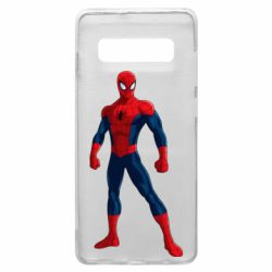Чохол для Samsung S10+ Spiderman in costume