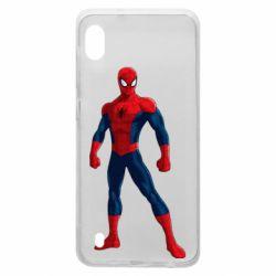 Чохол для Samsung A10 Spiderman in costume