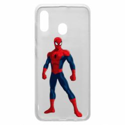 Чохол для Samsung A20 Spiderman in costume