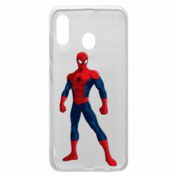 Чохол для Samsung A30 Spiderman in costume