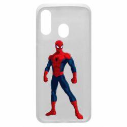 Чохол для Samsung A40 Spiderman in costume