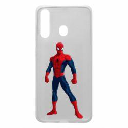 Чохол для Samsung A60 Spiderman in costume