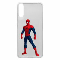 Чохол для Samsung A70 Spiderman in costume