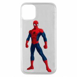 Чохол для iPhone 11 Pro Spiderman in costume