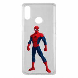 Чохол для Samsung A10s Spiderman in costume
