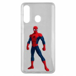 Чохол для Samsung M40 Spiderman in costume