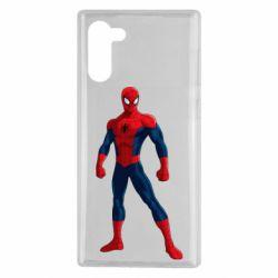 Чохол для Samsung Note 10 Spiderman in costume
