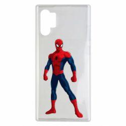 Чохол для Samsung Note 10 Plus Spiderman in costume