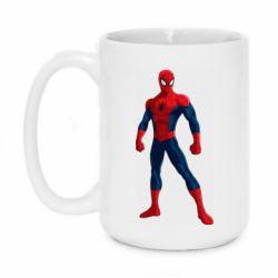 Кружка 420ml Spiderman in costume