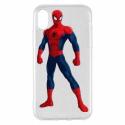 Чохол для iPhone X/Xs Spiderman in costume