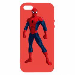 Чохол для iphone 5/5S/SE Spiderman in costume