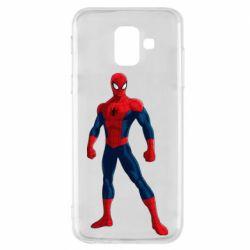 Чохол для Samsung A6 2018 Spiderman in costume