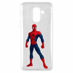 Чохол для Samsung A6+ 2018 Spiderman in costume