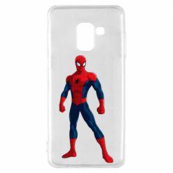 Чохол для Samsung A8 2018 Spiderman in costume