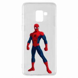 Чохол для Samsung A8+ 2018 Spiderman in costume