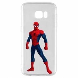 Чохол для Samsung S7 EDGE Spiderman in costume