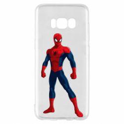Чохол для Samsung S8 Spiderman in costume