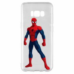 Чохол для Samsung S8+ Spiderman in costume