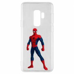 Чохол для Samsung S9+ Spiderman in costume