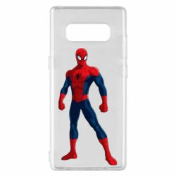 Чохол для Samsung Note 8 Spiderman in costume