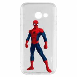 Чохол для Samsung A3 2017 Spiderman in costume
