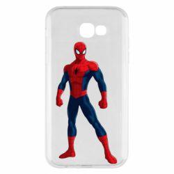 Чохол для Samsung A7 2017 Spiderman in costume