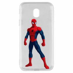 Чохол для Samsung J3 2017 Spiderman in costume