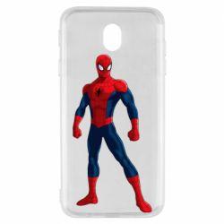 Чохол для Samsung J7 2017 Spiderman in costume