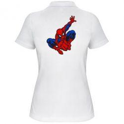Женская футболка поло Spiderman - FatLine