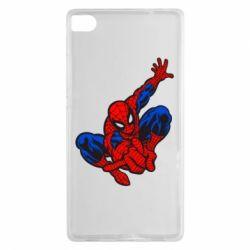 Чехол для Huawei P8 Spiderman - FatLine