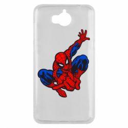 Чехол для Huawei Y5 2017 Spiderman - FatLine