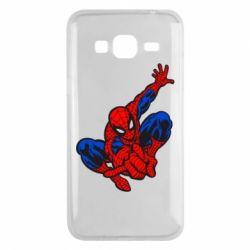 Чехол для Samsung J3 2016 Spiderman - FatLine