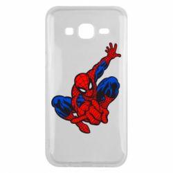 Чехол для Samsung J5 2015 Spiderman - FatLine
