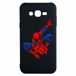 Чехол для Samsung J7 2015 Spiderman - FatLine