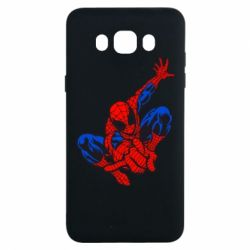 Чехол для Samsung J7 2016 Spiderman - FatLine