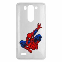 Чехол для LG G3 mini/G3s Spiderman - FatLine