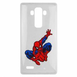 Чехол для LG G4 Spiderman - FatLine