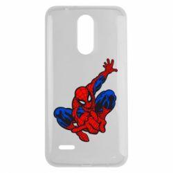 Чехол для LG K7 2017 Spiderman - FatLine