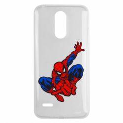 Чехол для LG K8 2017 Spiderman - FatLine